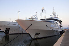 Maxi yacht Stock Images