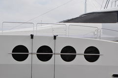 Maxi yacht Lady M IN SARDINIA Royalty Free Stock Photo