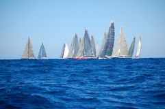 Maxi Yacht Rolex Cup Stock Photography