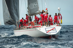 Maxi Yacht Rolex Cup 2015 sail boat race in Porto Cervo, Italy Royalty Free Stock Photo