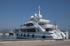 maxi yachthamn Arkivfoton