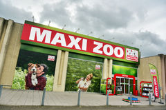 Maxi Zoo store Stock Images