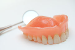Maxillary dentitie Stock Afbeeldingen