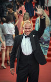 Maxim Averin on the red carpet before the opening 37 of the Moscow International film Festival Royalty Free Stock Images