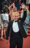 Maxim Averin sur le tapis rouge avant l'ouverture 37 du festival de film international de Moscou Images libres de droits