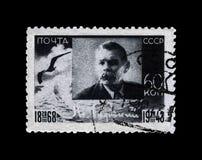 Maxim Gorky aka Alexei Maximovich Peshkov 1868-1936, escritor famoso do russo, dramaturgo, político, URSS, cerca de 1943, Fotografia de Stock