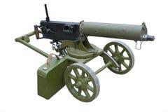 Maxim gun Stock Image