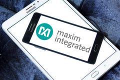 Maxim Integrated företagslogo Royaltyfri Foto