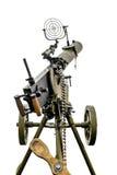 Maxim machine gun aboard a military machine Royalty Free Stock Photos