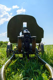 Maxim machine gun Stock Images