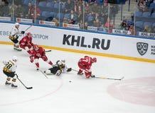 Maxim Trunyov ( 81) caiga abajo Foto de archivo
