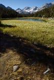 Maxima av de lilla sjöarna dal, John Muir Wilderness, toppig bergskedja Nevada Range, Kalifornien royaltyfri foto