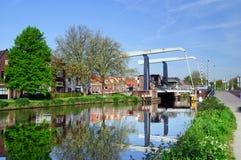 Maxima Bridge In Village Marken Stock Photography