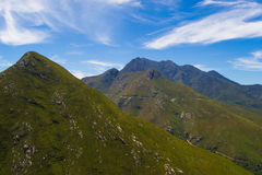 maxima för caucasus dombay bergberg Royaltyfri Bild