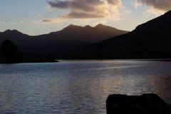 Maxima på solnedgången Arkivfoto