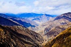 Maximal bergsiktspunkt Arkivfoton