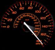 Maximal hastighet Arkivfoto