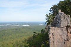 Maximal sikt I North Carolina Arkivfoto