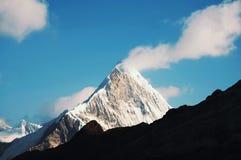Maximala Caraz i Cordilleras Arkivbild