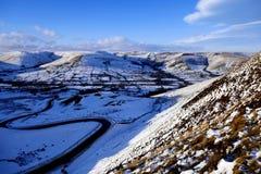 Maximalt område, Derbyshire, UK Fotografering för Bildbyråer