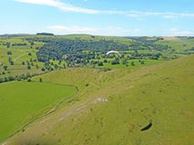 Maximalt område, Staffordshire Arkivbild