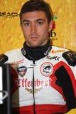 Maxime Berger Ducati 1098R Effenbert Liberty royalty free stock photos