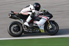Maxime Berger - Ducati 1098R - squadra supersonica Fotografia Stock Libera da Diritti
