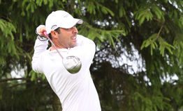 Maxime Demory at the golf Prevens Trpohee 2009 Stock Image