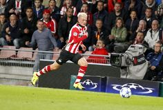 Maxime Lestienne PSV Eindhoven Royalty Free Stock Images