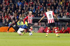 Maxime Lestienne PSV Eindhoven Royalty Free Stock Image