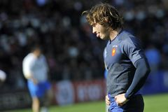 Maxime MEDARD at RBS 6 Nations Stock Images