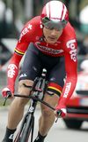 Maxime Montfort Team Lotto - Soudal Στοκ φωτογραφία με δικαίωμα ελεύθερης χρήσης