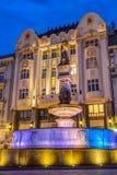 Maximilian fountain in Bratislava Royalty Free Stock Photos