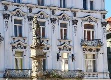 Maximilian Fountain. At Main Square (Hlavne namestie) in Bratislava, Slovakia Stock Images