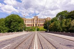 Maximilianeum Μόναχο Βαυαρία Στοκ εικόνα με δικαίωμα ελεύθερης χρήσης