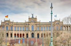 Maximilianeum in Munich Stock Image