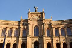 Maximilianeum München Stockbild