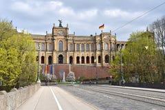 Maximilianeum Munich Arkivfoton