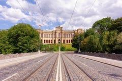 Maximilianeum Munich Bayern Royaltyfri Bild