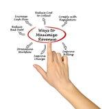 Maximize seu ciclo do rendimento imagem de stock royalty free