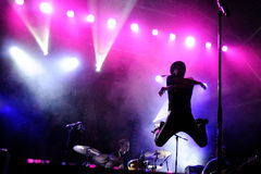 Maximo Park-band Royalty-vrije Stock Foto