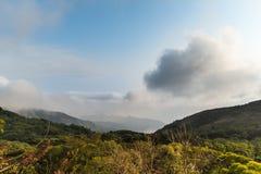 Maximum av bergen i Hong Kong royaltyfri foto