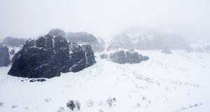 Maximum av berget Royaltyfri Foto