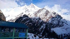 Maximum av berget, Nepal royaltyfri fotografi