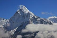 Maximum av monteringen Ama Dablam, Nepal royaltyfria foton