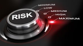 Maximum de risque Images libres de droits