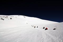 maximum för caucasus klättringelbrus Royaltyfri Fotografi