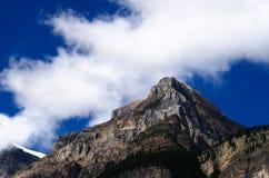 Maximum för stenigt berg i det Kananaskis landet Alberta Royaltyfria Bilder