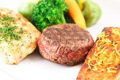 Maximum protein meal. Perfect lots of protein meal bodybuilders love it Royalty Free Stock Photos