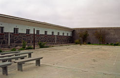 Maximum Security Prison, Robben island, South African Republic Royalty Free Stock Images